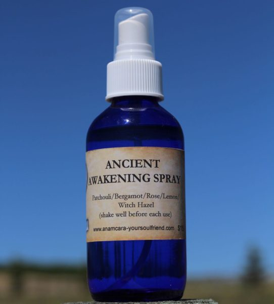 Anam Cara Marshall Ancient Awakening Essential Oil Spray