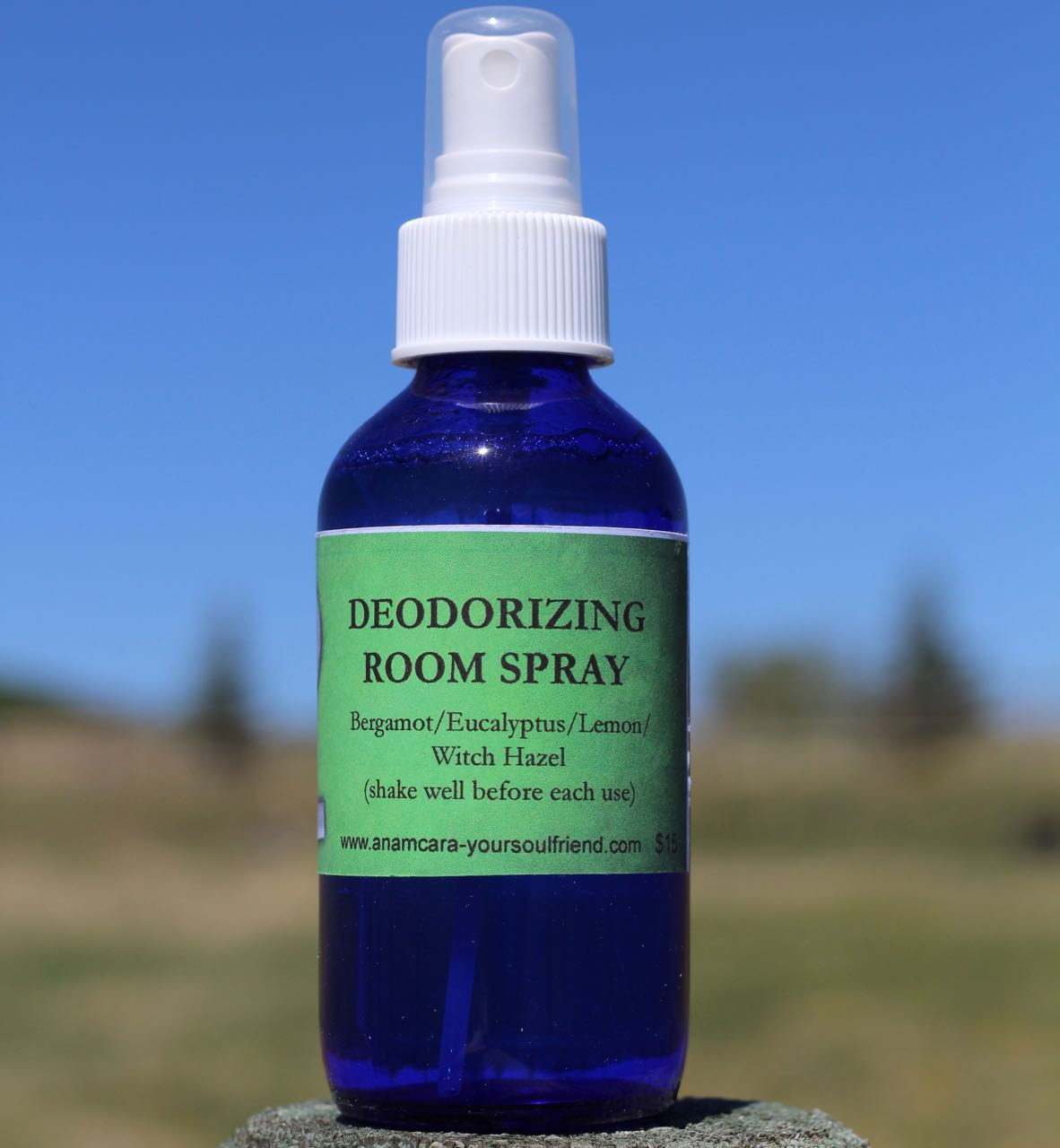Anam Cara Marshall Deodorizing Essential Oil Room Spray